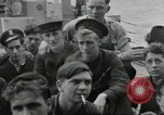 Image of Allied convoy Colleville-sur-Mer Normandy France, 1944, second 25 stock footage video 65675061302