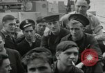 Image of Allied convoy Colleville-sur-Mer Normandy France, 1944, second 26 stock footage video 65675061302