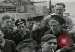 Image of Allied convoy Colleville-sur-Mer Normandy France, 1944, second 27 stock footage video 65675061302