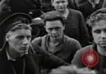 Image of Allied convoy Colleville-sur-Mer Normandy France, 1944, second 28 stock footage video 65675061302