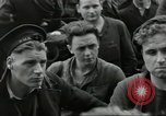 Image of Allied convoy Colleville-sur-Mer Normandy France, 1944, second 29 stock footage video 65675061302