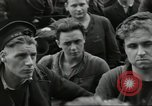 Image of Allied convoy Colleville-sur-Mer Normandy France, 1944, second 30 stock footage video 65675061302