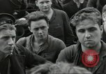 Image of Allied convoy Colleville-sur-Mer Normandy France, 1944, second 32 stock footage video 65675061302