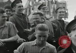 Image of Allied convoy Colleville-sur-Mer Normandy France, 1944, second 34 stock footage video 65675061302