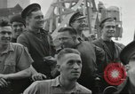 Image of Allied convoy Colleville-sur-Mer Normandy France, 1944, second 35 stock footage video 65675061302
