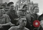 Image of Allied convoy Colleville-sur-Mer Normandy France, 1944, second 36 stock footage video 65675061302