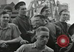 Image of Allied convoy Colleville-sur-Mer Normandy France, 1944, second 37 stock footage video 65675061302