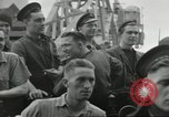 Image of Allied convoy Colleville-sur-Mer Normandy France, 1944, second 38 stock footage video 65675061302