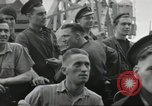 Image of Allied convoy Colleville-sur-Mer Normandy France, 1944, second 39 stock footage video 65675061302