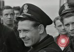 Image of Allied convoy Colleville-sur-Mer Normandy France, 1944, second 49 stock footage video 65675061302