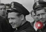 Image of Allied convoy Colleville-sur-Mer Normandy France, 1944, second 50 stock footage video 65675061302