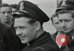 Image of Allied convoy Colleville-sur-Mer Normandy France, 1944, second 51 stock footage video 65675061302