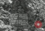 Image of United States soldiers Colleville-sur-Mer Normandy France, 1944, second 34 stock footage video 65675061306