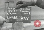 Image of United States convoy Normandy France, 1944, second 1 stock footage video 65675061308