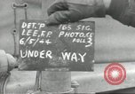 Image of United States convoy Normandy France, 1944, second 2 stock footage video 65675061308