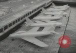 Image of F 86 aircraft Japan, 1956, second 14 stock footage video 65675061323