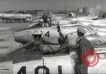 Image of F 86 aircraft Japan, 1956, second 32 stock footage video 65675061323