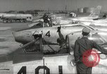 Image of F 86 aircraft Japan, 1956, second 34 stock footage video 65675061323