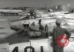 Image of F 86 aircraft Japan, 1956, second 35 stock footage video 65675061323