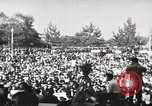 Image of H Bomb protest Tokyo Japan, 1957, second 8 stock footage video 65675061325