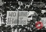 Image of H Bomb protest Tokyo Japan, 1957, second 13 stock footage video 65675061325