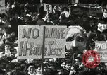 Image of H Bomb protest Tokyo Japan, 1957, second 14 stock footage video 65675061325