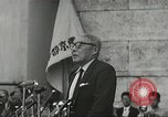 Image of H Bomb protest Tokyo Japan, 1957, second 16 stock footage video 65675061325