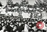 Image of H Bomb protest Tokyo Japan, 1957, second 22 stock footage video 65675061325