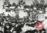 Image of H Bomb protest Tokyo Japan, 1957, second 24 stock footage video 65675061325