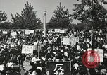 Image of H Bomb protest Tokyo Japan, 1957, second 27 stock footage video 65675061325