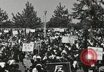 Image of H Bomb protest Tokyo Japan, 1957, second 28 stock footage video 65675061325
