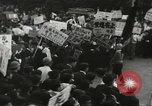Image of H Bomb protest Tokyo Japan, 1957, second 52 stock footage video 65675061325