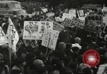 Image of H Bomb protest Tokyo Japan, 1957, second 53 stock footage video 65675061325
