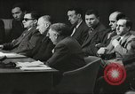 Image of United Nations Security Council and Jewish Agency for Palestine Lake Success New York United states USA, 1947, second 16 stock footage video 65675061334