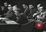 Image of United Nations Security Council and Jewish Agency for Palestine Lake Success New York United states USA, 1947, second 17 stock footage video 65675061334