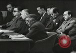 Image of United Nations Security Council and Jewish Agency for Palestine Lake Success New York United states USA, 1947, second 23 stock footage video 65675061334