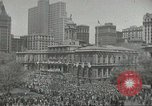 Image of Founding of Israel New York City USA, 1948, second 7 stock footage video 65675061338