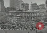 Image of Founding of Israel New York City USA, 1948, second 10 stock footage video 65675061338