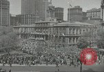 Image of Founding of Israel New York City USA, 1948, second 11 stock footage video 65675061338