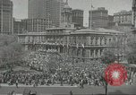 Image of Founding of Israel New York City USA, 1948, second 12 stock footage video 65675061338