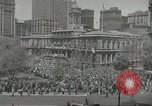 Image of Founding of Israel New York City USA, 1948, second 14 stock footage video 65675061338