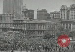 Image of Founding of Israel New York City USA, 1948, second 23 stock footage video 65675061338