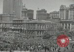 Image of Founding of Israel New York City USA, 1948, second 24 stock footage video 65675061338