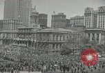 Image of Founding of Israel New York City USA, 1948, second 25 stock footage video 65675061338