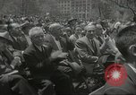 Image of Founding of Israel New York City USA, 1948, second 42 stock footage video 65675061338