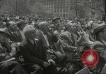 Image of Founding of Israel New York City USA, 1948, second 44 stock footage video 65675061338