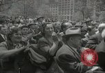 Image of Founding of Israel New York City USA, 1948, second 46 stock footage video 65675061338