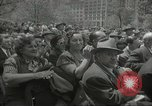 Image of Founding of Israel New York City USA, 1948, second 47 stock footage video 65675061338