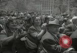 Image of Founding of Israel New York City USA, 1948, second 48 stock footage video 65675061338