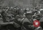 Image of Founding of Israel New York City USA, 1948, second 49 stock footage video 65675061338